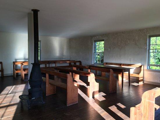 Sharpsburg, MD: Inside Dunker Church