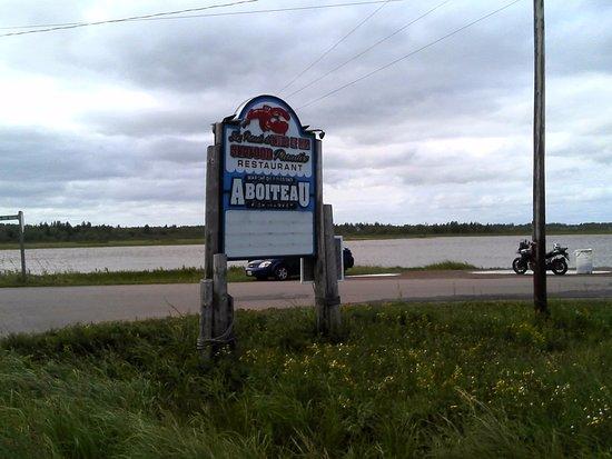Cap-Pele, Canada: AboiteaU... Vous y êtes!
