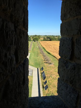 Sharpsburg, MD: Battlefield seen from the observation tower