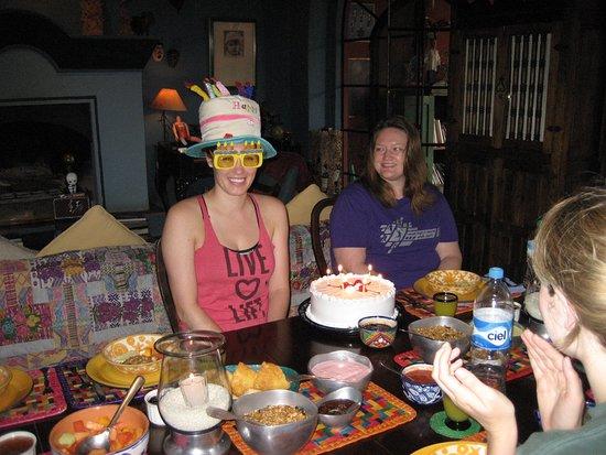 Casa de la Cuesta: happy birthday celebration !!!