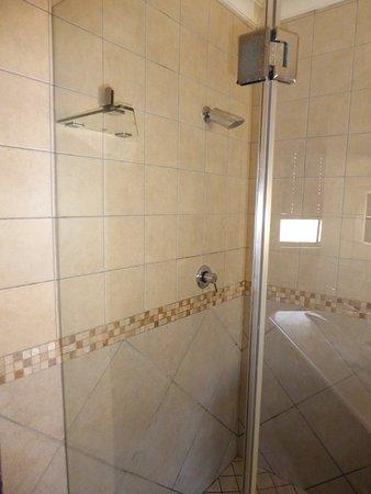 Benoni, Sudafrica: shower