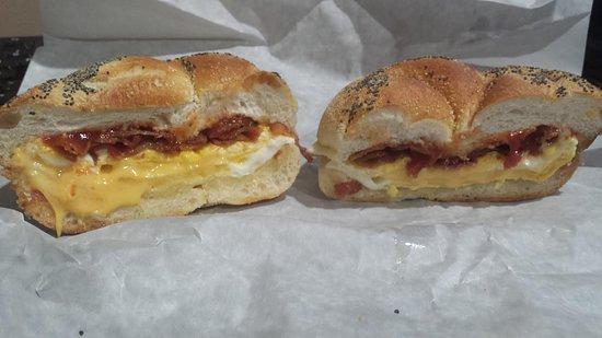 Commack, NY: Bacon, Egg & Cheese