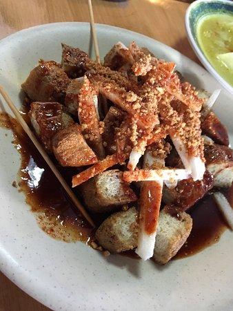 Grilled Crisp Tofu Pockets (Tahu Bakar) Recipe — Dishmaps