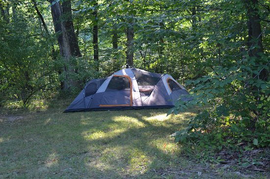 Columbia, NJ: Nice, spacious campsites