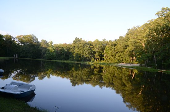 Columbia, Nueva Jersey: Lake in the morning light