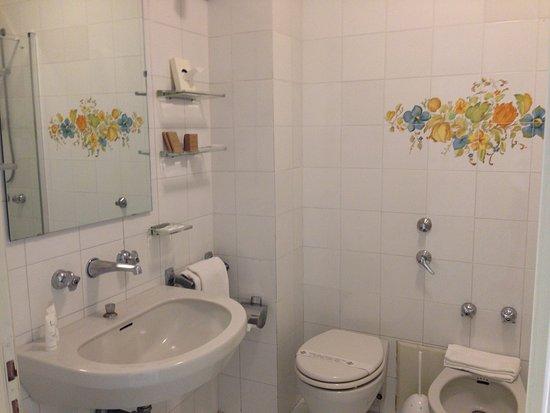Grand Hotel Don Juan: Bagno con vasca + doccia