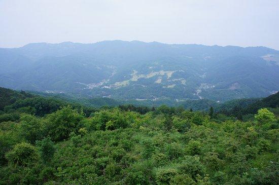 Minano-machi, Japan: 頂上からの景色