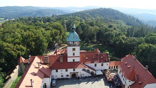 Bouzov Castle: Widok z wierzy