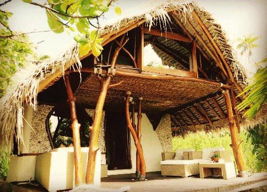Tikehau Ninamu Resort: Nuestro bungalow en el Ninamu resort
