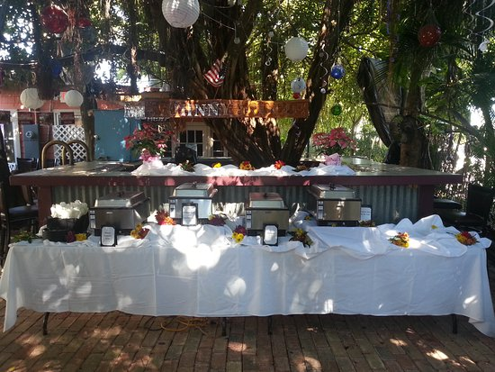 Bourbon Street BBQ and Southern Cooking: Chamber of Commerce event
