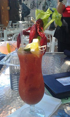 Bourbon Street BBQ and Southern Cooking: The Best bloody mary
