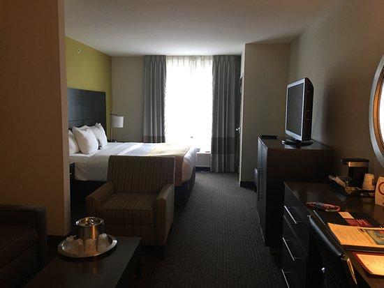 Comfort Suites Miami Airport North: Vista de habitación