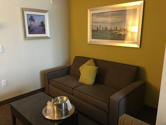 Comfort Suites Miami Airport North: Pequeño living