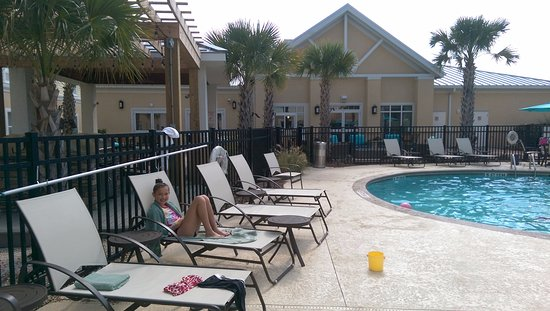Homewood Suites by Hilton Wilmington/Mayfaire : Nice pool area