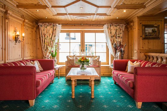 Hotel Gletscherblick: Eingangsbereich Rezeption