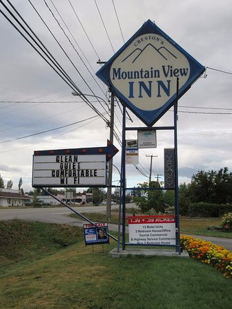 Mountain View Inn: The motel is for sale if anyone is interested.