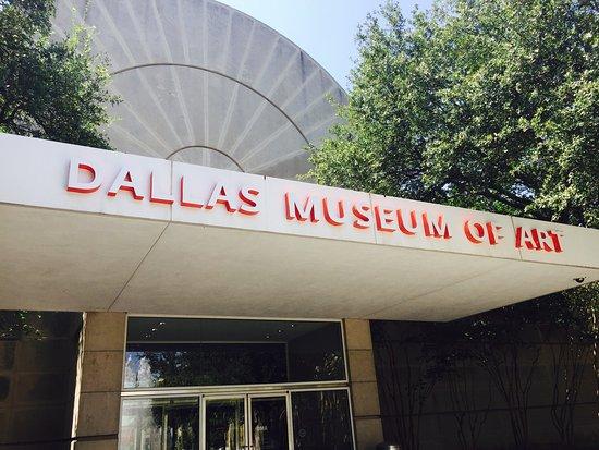 Dallas Museum of Art: Eu gostei muito do museu. Não é um museu imenso, mas possui um acervo fantastico. Obras do mundo