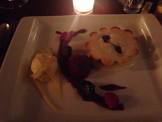Maize Restaurant: Lemon Cake Dessert