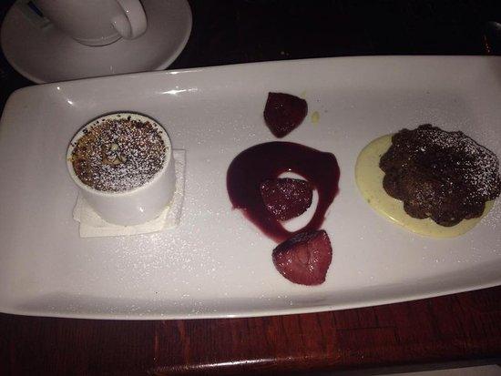 Maize Restaurant: Chocolate Hazlenut Dessert