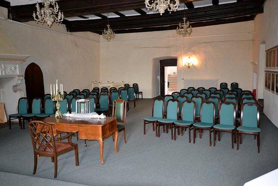 Beichlingen, Deutschland: Der Rittersaal für standesamtliche Trauungen