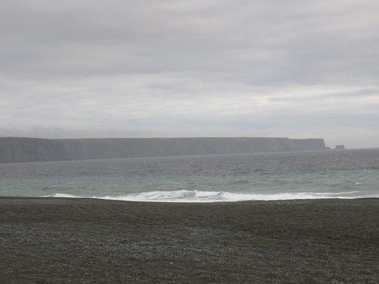 Irish Loop - windy and hazy St Vincent