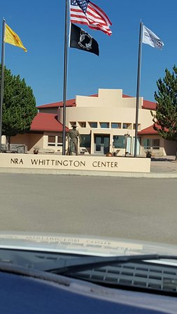 Raton, NM: Entrance to Whittington Center