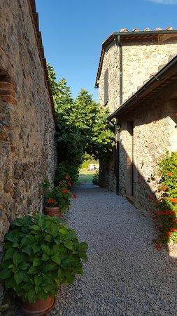 Montieri, İtalya: Verso le camere