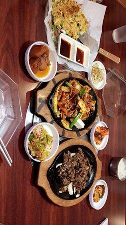 Kaya Korean Restaurant: Our meal