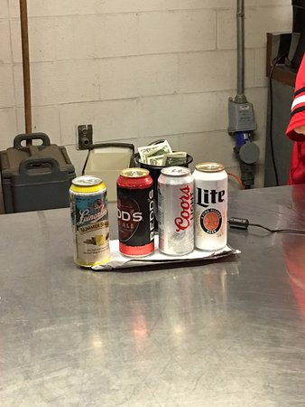 Ohio Stadium: Current new selection of adult beverages for sale during the game