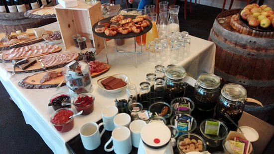 Bredsten, Danimarka: Buffet del desayuno
