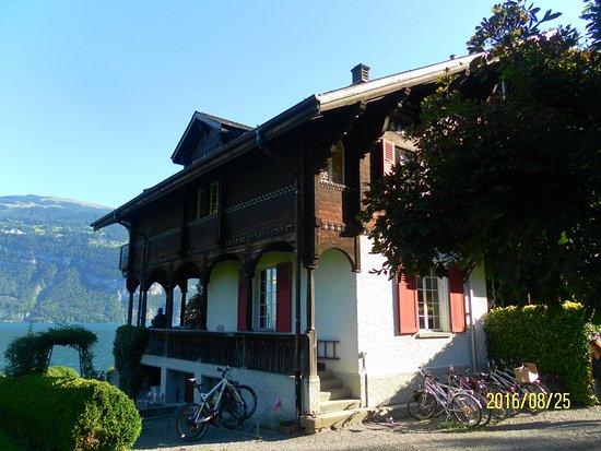 """Leissigen, Switzerland: Albert Wander Haus - Sommerhaus von Gründer der """"Ovomaltine"""""""