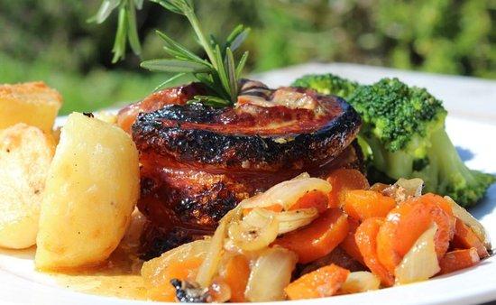 Saint Francis Bay, Sudáfrica: Sunday roast - Pork Belly