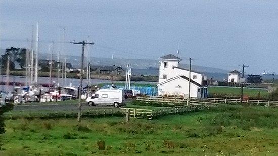 Kilrush, İrlanda: View from balcony