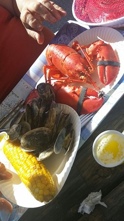 Lewiston, Мэн: Mr Sea's Lobster Pound