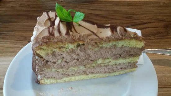 Pension Restaurant Rosmarie: torta al cioccolato
