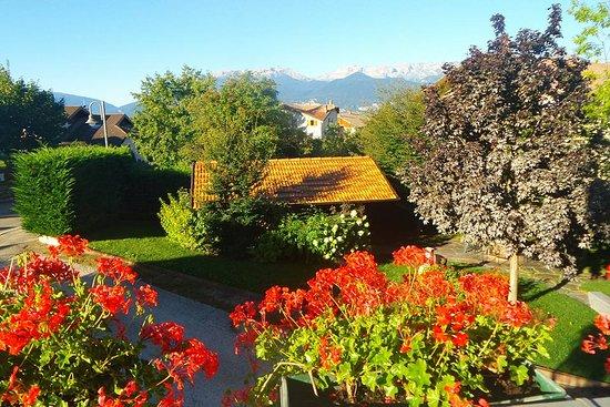 Smarano, Italia: Toller Aussischt auf die Berge!