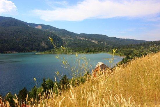 Bridger Teton National Forest: End of the lake