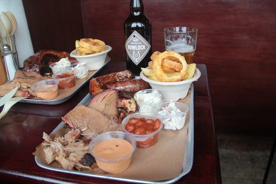Bison Bar and BBQ: Tasting tray