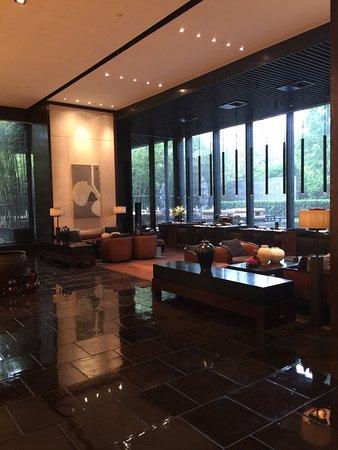 The PuLi Hotel and Spa: Puli Shanghai -- lobby entrance