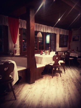 Saas-Grund, Suiza: Bodmen restaurant