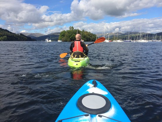 Bowness-on-Windermere, UK: Kayaking September 2016