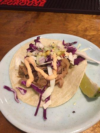 Palisade, CO: pulled pork taco