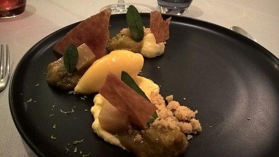 Restaurant le Gambetta: Autour des fruits et du crumble