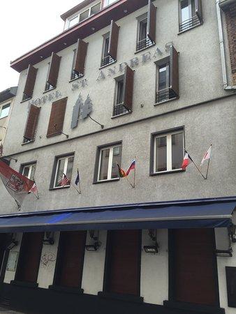 Hotel Sankt Andreas: Vooraanzicht hotel