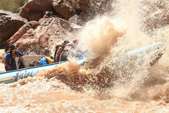 Hualapai River Runners : You will definitely get soaked, so be prepared!