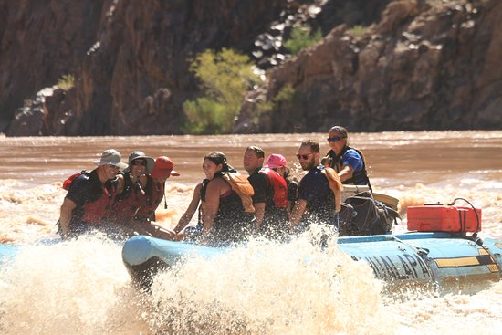 Hualapai River Runners: Gina was very experienced and ensured our safety at all times.