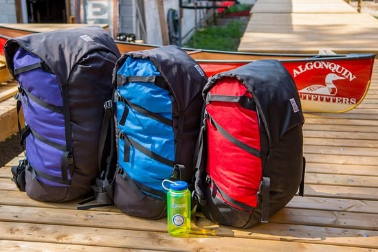 Oxtongue Lake, Canadá: Expedition Canoe Packs, the best choice for a canoe trip