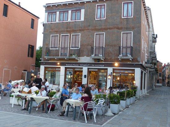 Ristorante Al Redentor : Evening meal