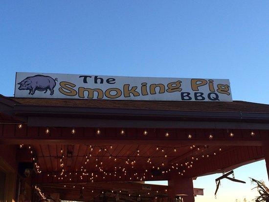 Pendleton, Carolina Selatan: The Smokin' Pig