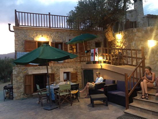 Selva, Spanien: lovely evening meal location